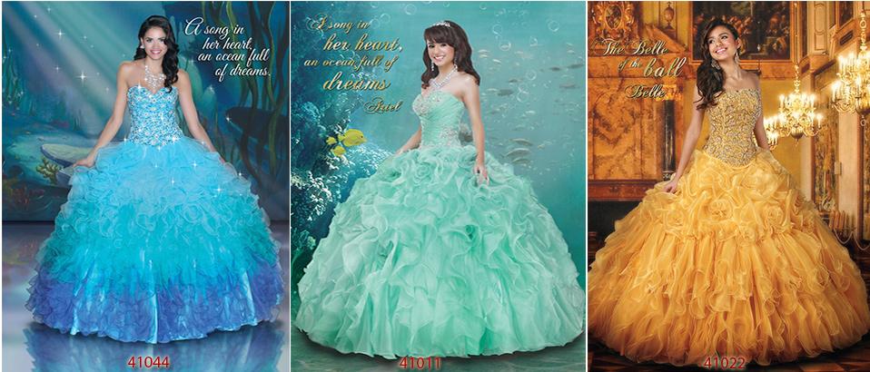 Disney Princess Sweet 16 Dresses
